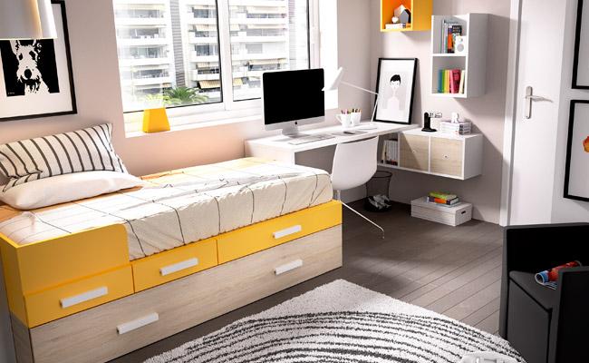 Dormitorios muebles gavira for Departamentos juveniles decoracion