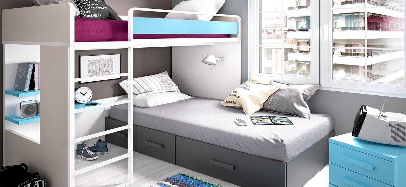 Dormitorios juveniles | Muebles Gavira