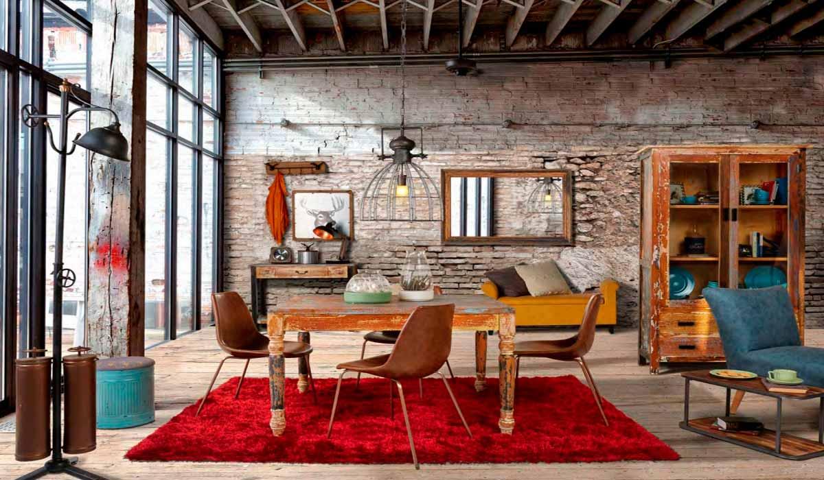 Estilo industrial con la est tica de un loft muebles gavira for Cofre de estilo industrial